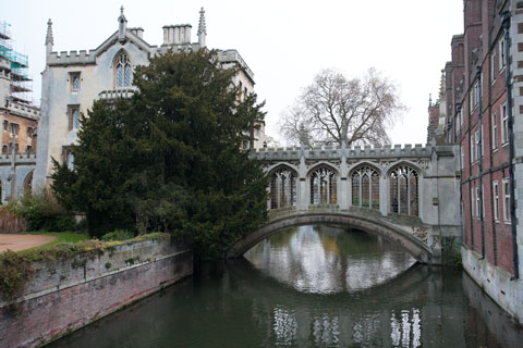 Le pont des soupirs (Bridge of Sighs) de l'université Saint John