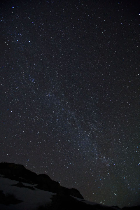 Milky Way over Ringvassøy