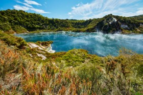 Hot lake in Waimangu