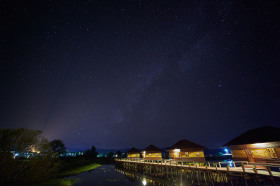 Milky Way at Inle Lake