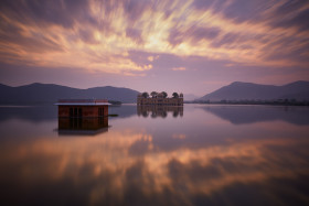 Jal Mahal at Dawn