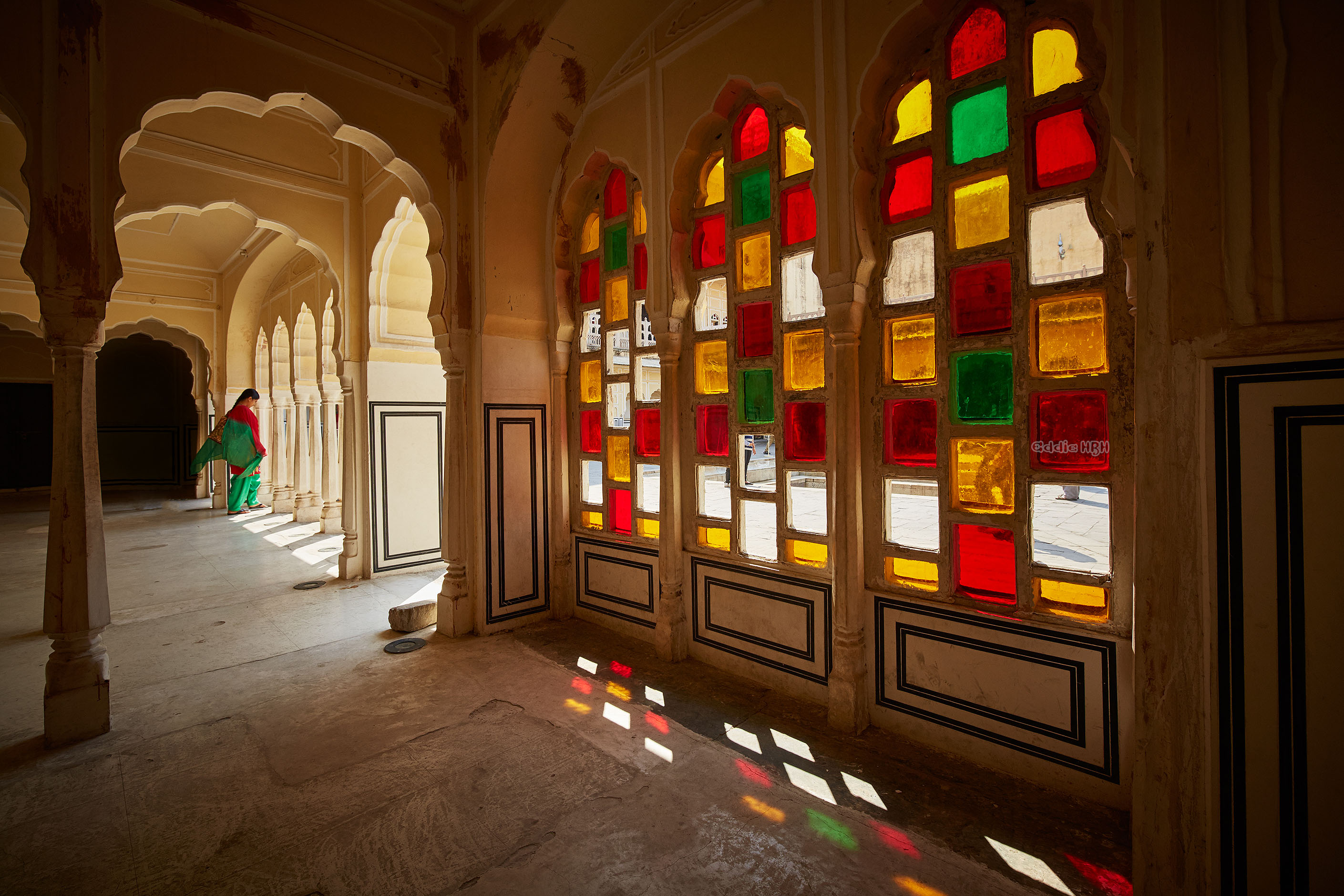 The Beautiful Colours of the Hawa Mahal