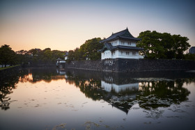 Around the Imperial Palace in Tokyo