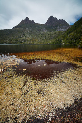 The Dove Lake and The Cradle Mountain