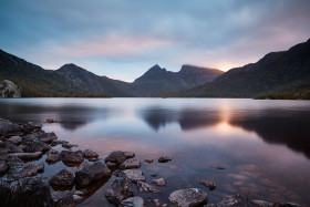 Dove Lake's Last Light