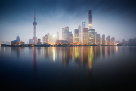 The Financial District of Pudong, Shanghai