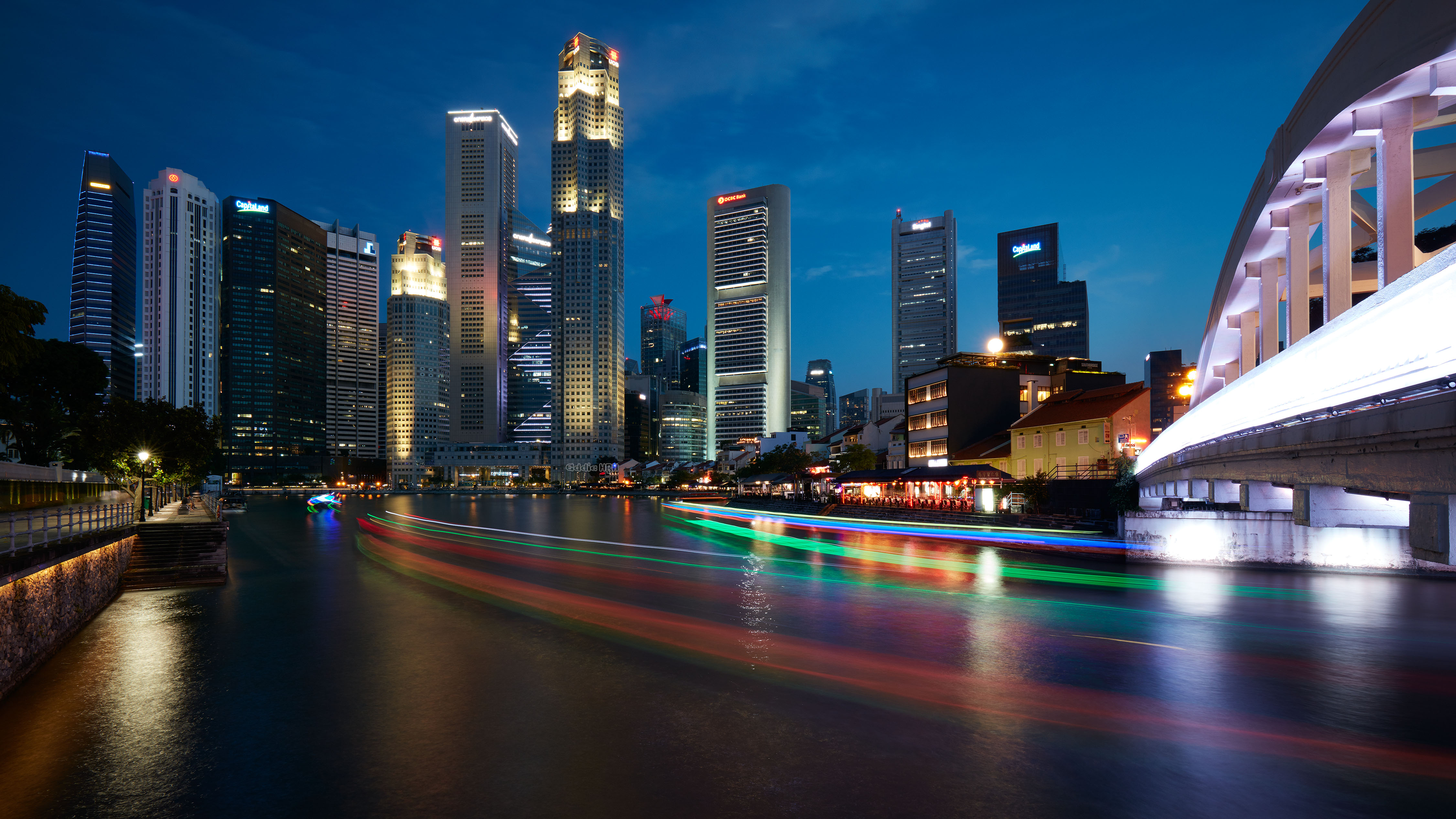 On the Singapore river