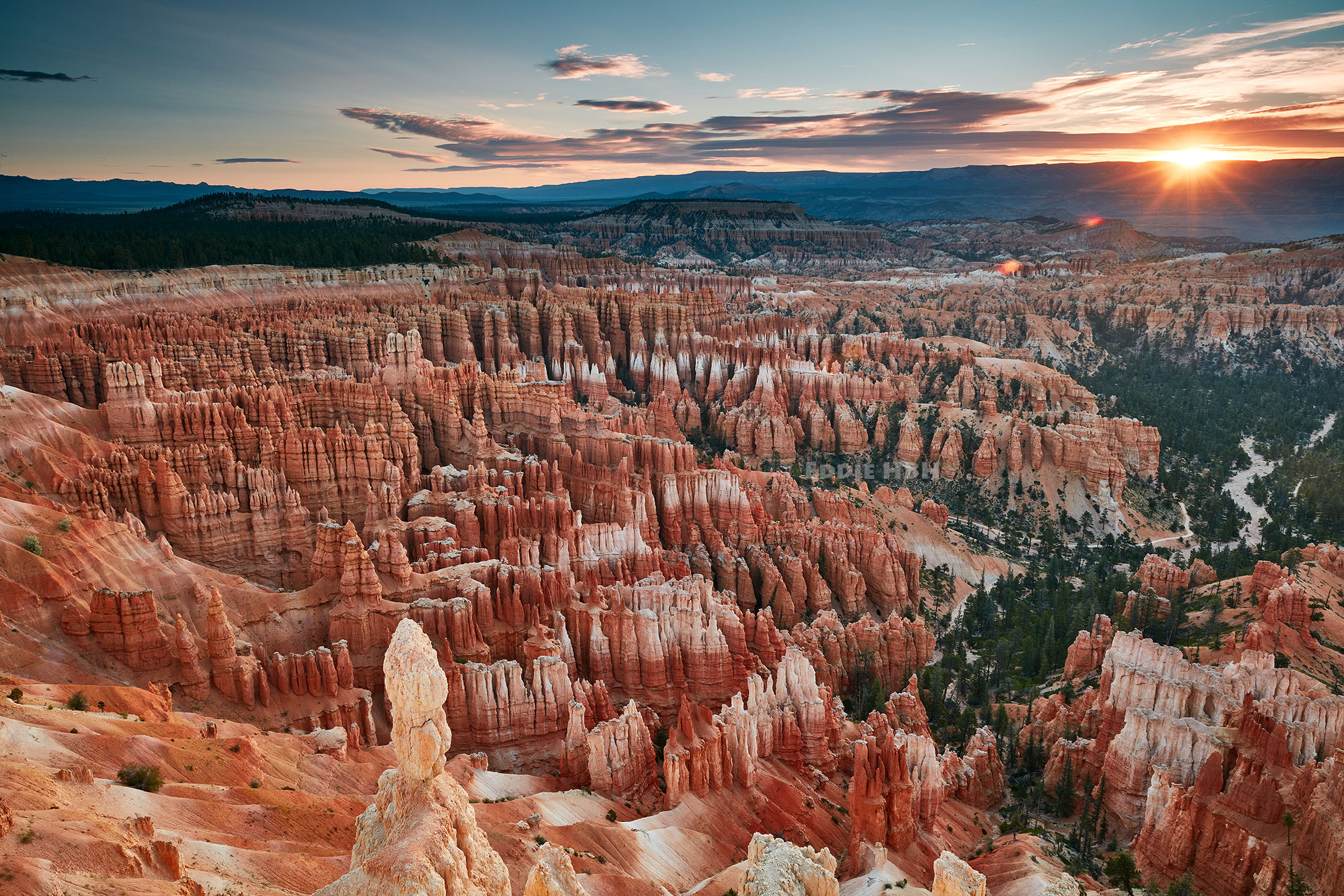 Bryce Canyon Amphitheater at Sunrise