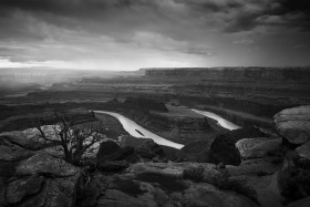 Colorado River from Dead Horse Point State Park