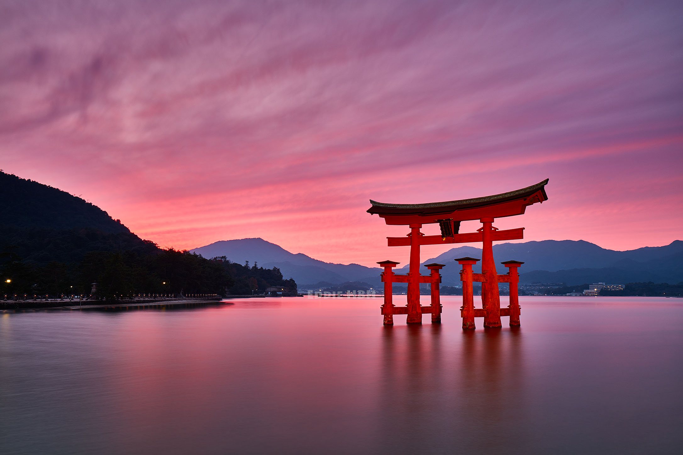 The Great Torii at Itsukushima Shrine