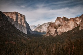 Tunnel View in Yosemite National Park