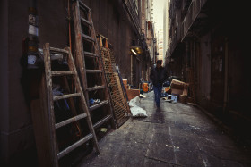 Alleys of Wanchai, Hong Kong