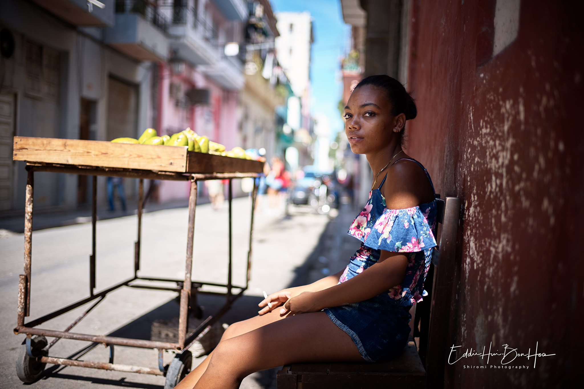 Chilling out in Havana